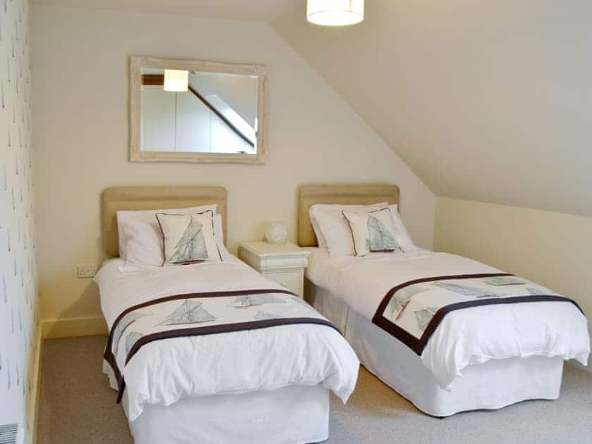 Twin bedroom   Salar's Rest, Alnmouth