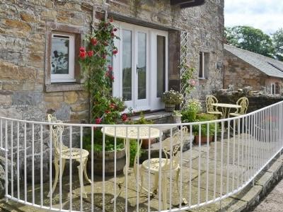 Sitting-out-area | Daleside - Rambling Rose, Nr. Keswick