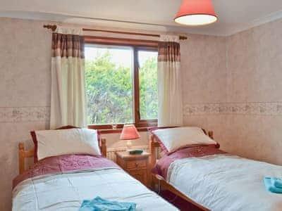 Twin bedroom | Glengowan, Inverasdale
