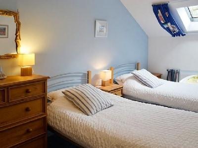 Twin bedroom | The Old Chapel, Buckden