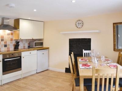 Kitchen/diner | Quarme Coombe Cottage, Wheddon Cross, nr. Minehead