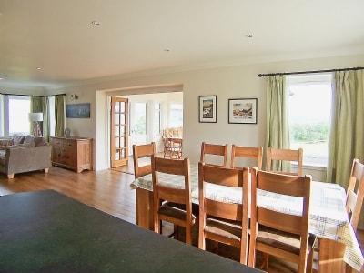 Open plan living/dining room/kitchen   Degnish Farmhouse, Kilmelford, nr.Oban
