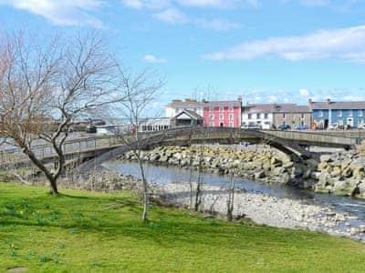 Views of Aberaeron   Ceredigion, Cardigan Bay