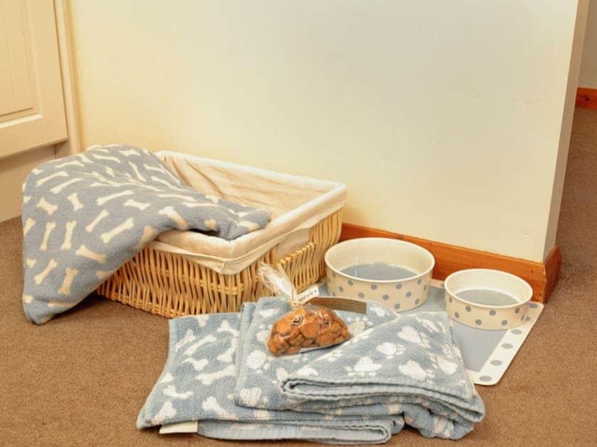 Dog basket -  left for each owner  | South View Mews, Romaldkirk, nr. Barnard Castle