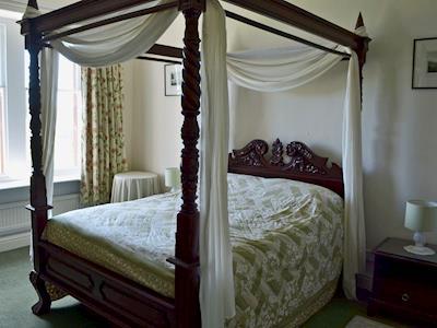Impressive four poster bedroom | Sheraton - Hazelwood Court, Grange-over-Sands
