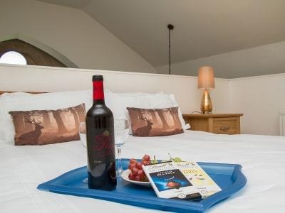 Double bedroom   Glen View, Fort Augustus