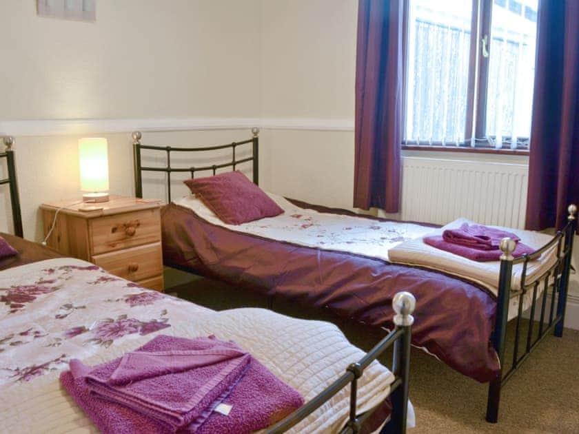 Twin bedroom | Hafan, Llangwnadl, nr. Nefyn