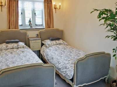 Twin bedroom | Bakewell Barn, Bakewell