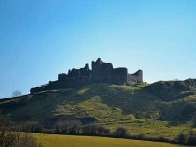 Carreg Cennen Castle   Carmarthenshire, Wales