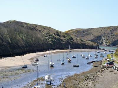 Solva harbour   Pembrokshire, Wales