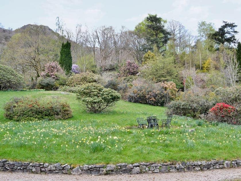 Garden | Scafell Apartment, Ambleside