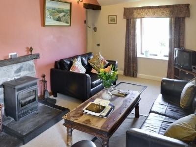 Living room | Allt Maen, Lowick Bridge