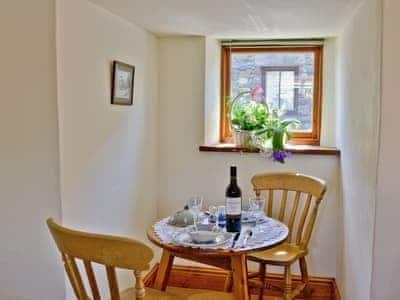 Dining Area | Cobbler's Cottage, Silecroft, nr. Millom