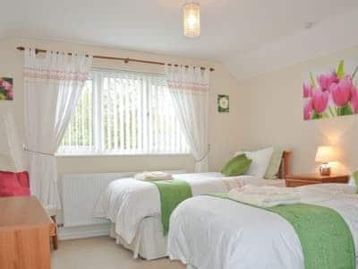 Twin bedroom | Glennydd, Bronant, nr. Aberystwyth