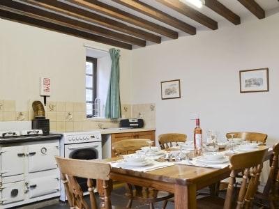 Kitchen/diner | Tanyffridd, Llanrhaeadr Ym Mochnant