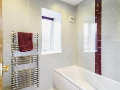 Bathroom | High Kirkland Holiday Cottages: The Byre, Kirkcudbright