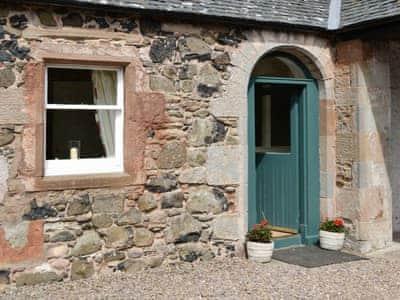Entrance | Oldhamstocks Cottage, Oldhamstocks, By Dunbar