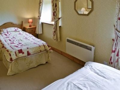 Bedroom | Springs Cottage, Thwaite near Hawes