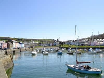 Aberaeron Harbour | Ceredigion/Cardigan Bay, Wales