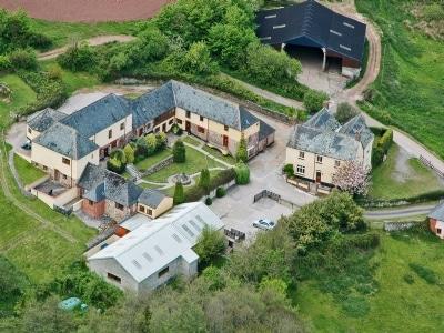 Aerial shot | Ashcombe - America, Ashcombe, nr. Dawlish