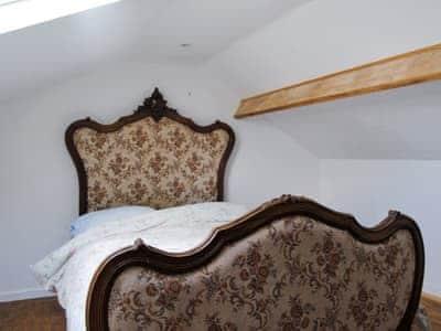 Double bedroom | Hirros Hall Longhouse, Llanerfyl, nr. Welshpool