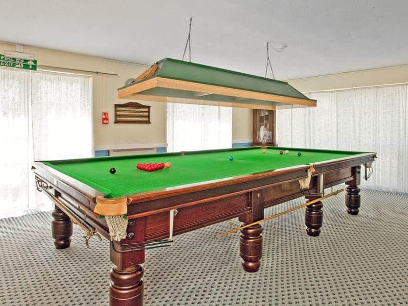 Snooker Room | Moorhead Farm - Bramling, Woolsery, nr. Clovelly