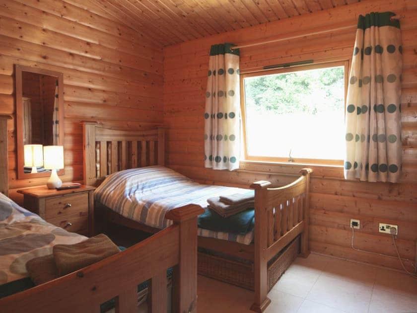 Twin bedroom | Cider Mill Lodge, Brockweir