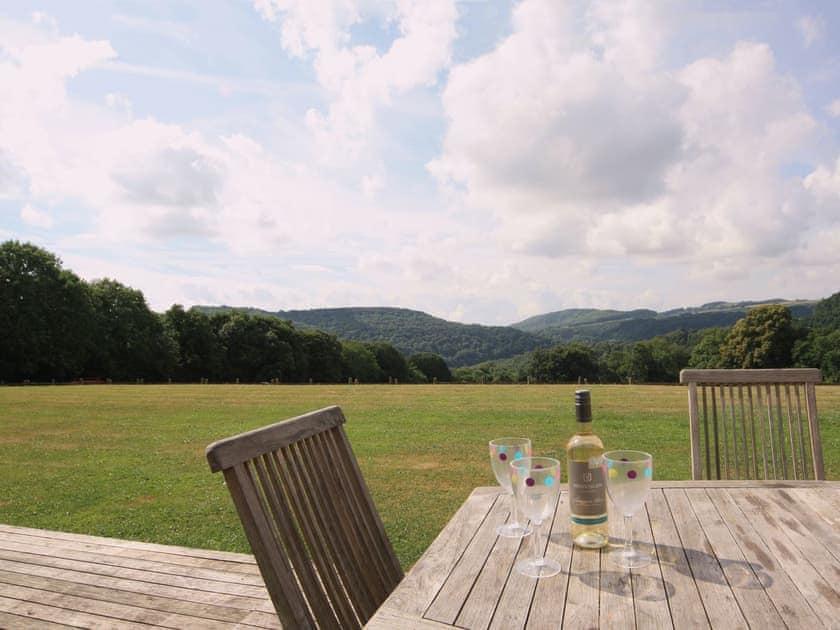 View | Cider Mill Lodge, Brockweir