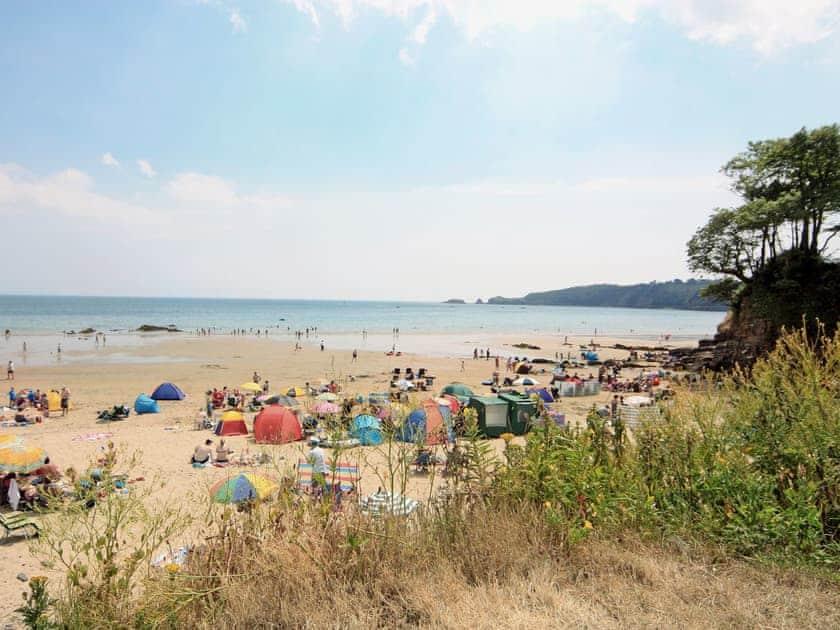 Saundersfoot Beach   Pembrokshire, Wales