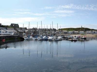 Findochty harbour   Highland, Scotland