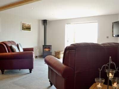 Living room/dining room | Bwthyn Y Mynach, Nantgaredig, nr. Carmarthen
