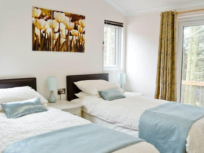 Twin bedroom | Ash Lodge, Clatworthy