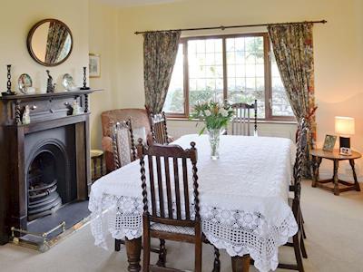 Wonderful dining room | North Lodge, Dyffryn Ardudwy, near Harlech