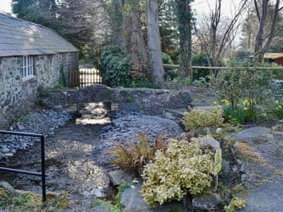 Garden | Abbey End, Maenan, Conwy