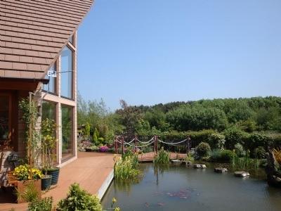 Garden | Swallow Lodge, Hadston near Druridge Bay