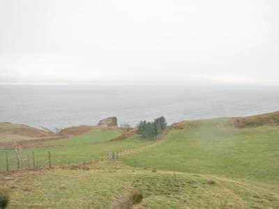 View | Aird House, near Ardvasar, Isle of Skye