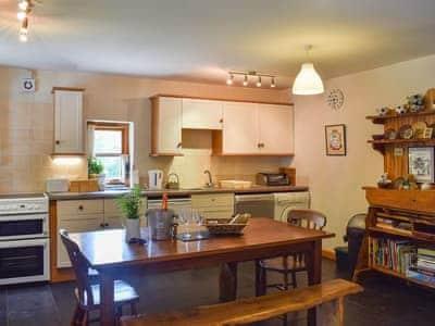 Large kitchen/diner | Tŷ Pêl Droed (Football House) - Pentre Bach, Blaenpennal, Aberystwyth