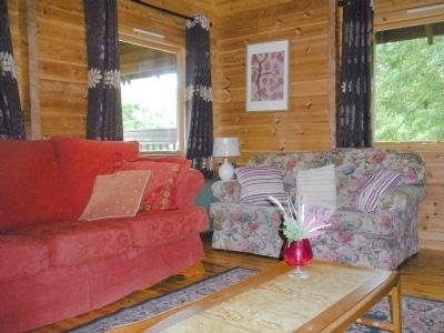 Living room | Criffel Lodge, Park of Tongland, Kirkcudbright