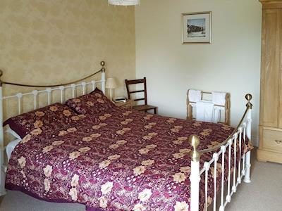 Comfortable double bedroom | Riverdale Cottage, Bainbridge near Hawes