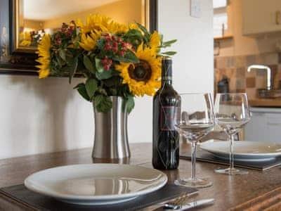 Dining Area | Lawson's Studio, Castle Bolton, Leyburn