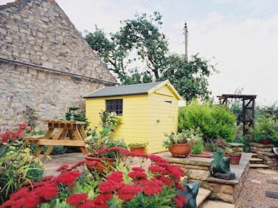 Garden | Aban Cottage, Harome near Helmsley