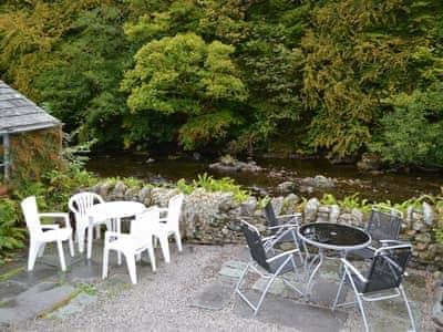 Sitting-out-area | Bobbin Cottage, Keswick