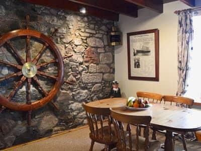 Dining area | Shoreline Cottage, Partanhall, Burnmouth