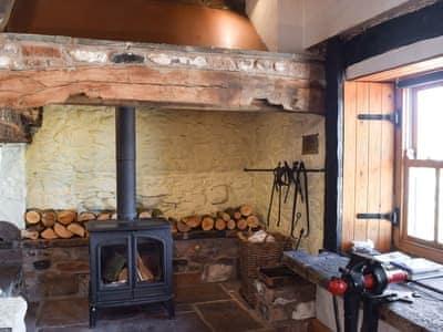 Wood burning stove   The Old Smithy, Blencow