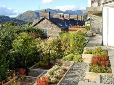 Terraced front garden | Three Fells, Ambleside