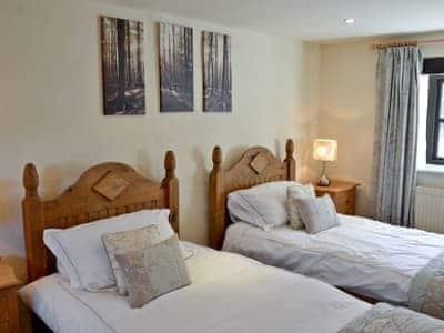Twin bedroom | Marigold Barn, Satterthwaite