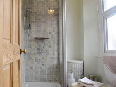 En-suite shower room | Waterhead Cottage, Ambleside