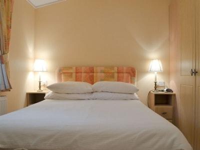 Double bedroom | Lakeland Lodge, near Windermere