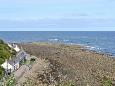 Location | Shoreline Cottage, Partanhall, Burnmouth