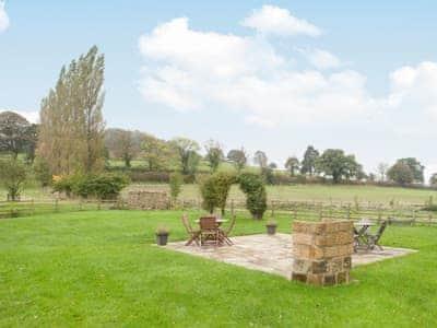 Sitting-out-area | Hurworth - Knayton Moor Cottages, Knayton, nr. Thirsk
